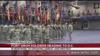 Troops from Upstate NY head to Washington DC