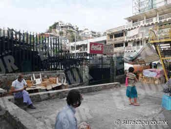 Cierran los mercados de la colonia 20 de Noviembre y Llano Largo para la sanitización - El Sur de Acapulco