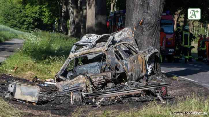 Tödlicher Unfall bei Dannenberg: Auto rast gegen Baum - Hamburger Abendblatt