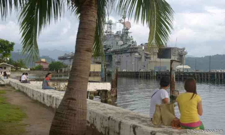China sea security issues pushed Philippine U-turn on US troop pact