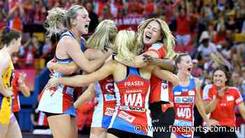 Super Netball confirms return date with full 2020 season planned - Fox Sports
