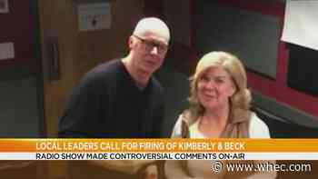 Radio hosts Kimberly and Beck fired for racist comments