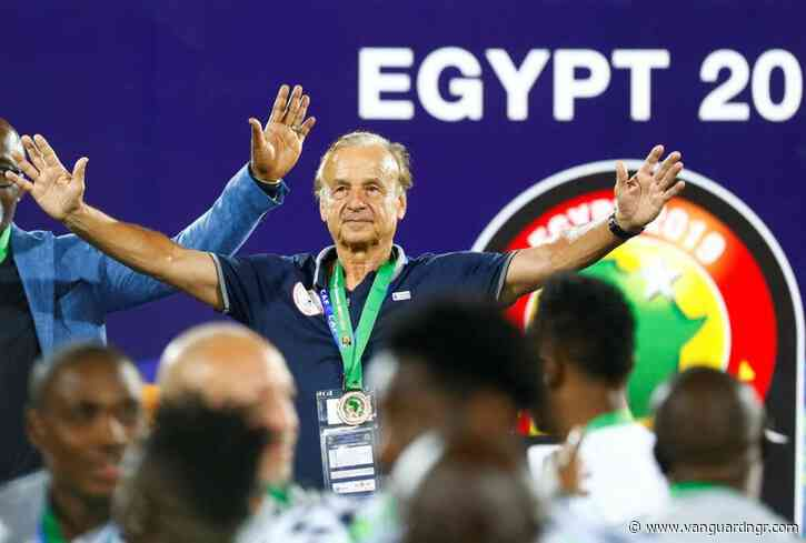 Rohr: I'll make Eagles champions of Africa again