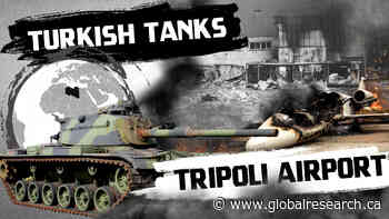 Video: Battle for Tripoli Airport 2.0