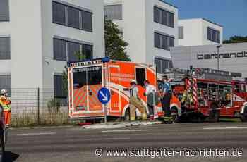Ehningen im Kreis Böblingen - Ausgetretene Säure verursacht großen Schaden bei Autozulieferer - Stuttgarter Nachrichten