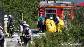 Hoher Sachschaden nach Säureaustritt in Ehningen | Stuttgart | SWR Aktuell Baden-Württemberg | SWR Aktuell - SWR