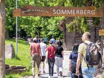 In Bad Wildbad drängen sich an Pfingsten die Massen: Polizei verzeichnet dennoch keine Verstöße - Region - Pforzheimer Zeitung