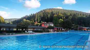 Bad Wildbad: Vereine können ab sofort wieder im Calmbacher Freibad trainieren - Bad Wildbad - Schwarzwälder Bote