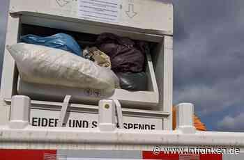 Vogelschutz geht vor: Kleidercontainer mit Nest in Franken gesperrt