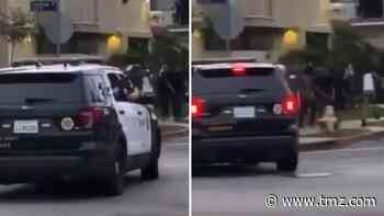 L.A. Sheriff's Deputies Fire Rubber Bullets Drive-By Style at Black Teens