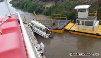 Remolcador causa daños en ambulancia acuática de Soplaviento, Bolívar - Caracol Radio