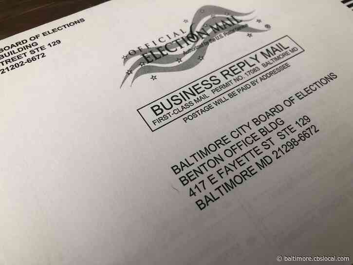 Some Baltimore Voters Got Mail-In Ballots With Errors; Officials Still Working To Count Them