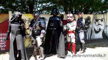 Insolite : les personnages de Star Wars en visite surprise à Montivilliers ! - Paris-Normandie