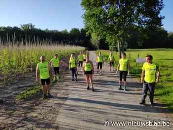 Veldmeersrunners lopen en wandelen weer, per bubbel (Laarne) - Het Nieuwsblad