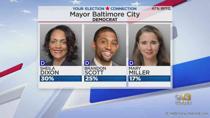 Democratic Baltimore Mayoral Race Too Close To Call