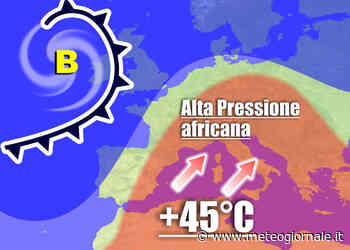 Ecco quando esploderà la BOMBA meteo AFRICANA in Italia - Meteo Giornale
