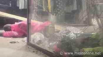 Bomba all'esterno di un negozio. Paura per i residenti - Melitonline