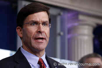 Breaking with president, Esper opposes using military for protests
