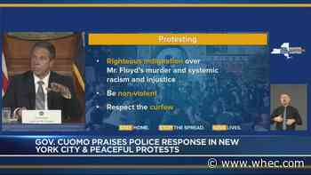 Cuomo: NYPD response much better Tuesday night