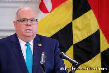 Gov. Larry Hogan Will Address Marylanders At 4 p.m.