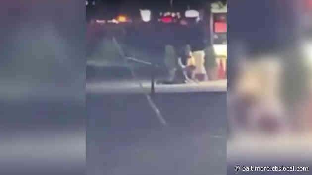 3 Prince George's County Police Officers Suspended After Video Shows Officer Kicking Assault Suspect At Gas Station