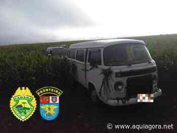 BPFron apreende veículo carregado com cigarros contrabandeado em Nova Santa Rosa - Aquiagora.net