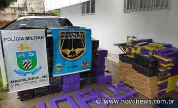 Caminhão baú carregado com mais de 1.700 kg de maconha é apreendido em Anaurilândia - Nova News