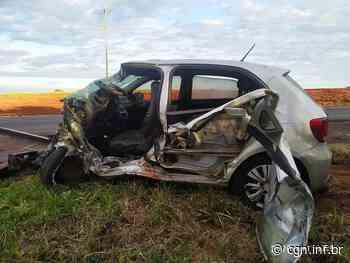 Condutor de carro carregado com maconha morre em acidente na PR-463, em Paranacity - CGN