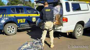 Veículo carregado de mercadorias ilegais é apreendido - O Diário