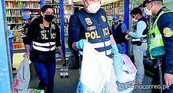 Incautan alimentos valorizados en 80 mil soles de centro comercial en Chupaca - Diario Correo