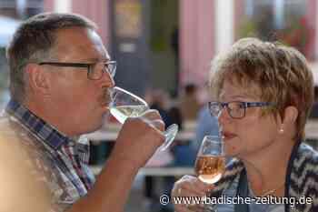 Überlegungen: Weinfeste könnten im Herbst über die Bühne gehen - Offenburg - Badische Zeitung