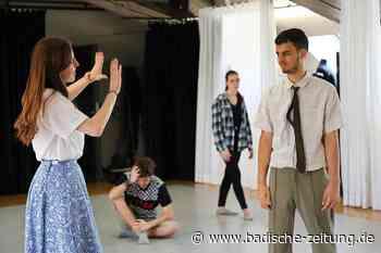 In Zeiten von Corona wird Theater anders gespielt und geprobt - Offenburg - Badische Zeitung