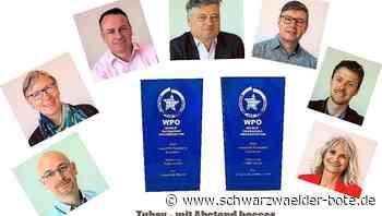 Rangendingen: Zwei World-Star-Awards für Tubex - Rangendingen - Schwarzwälder Bote