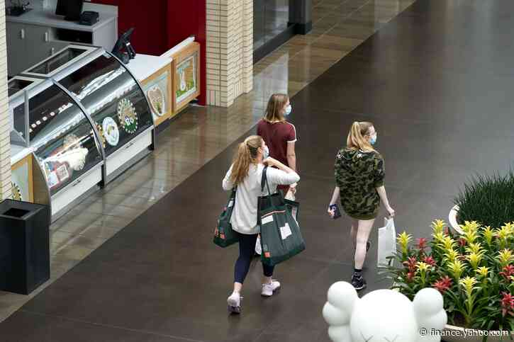 Mall Stocks Surge With Shoppers Coming Back Faster Than Expected