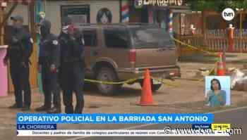Provincias Realizan operativo en la barriada San Antonio en La Chorrera - TVN Panamá
