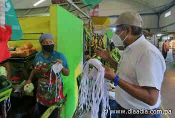 Operativo en el Mercado Público y de Abasto en La Chorrera - Día a día