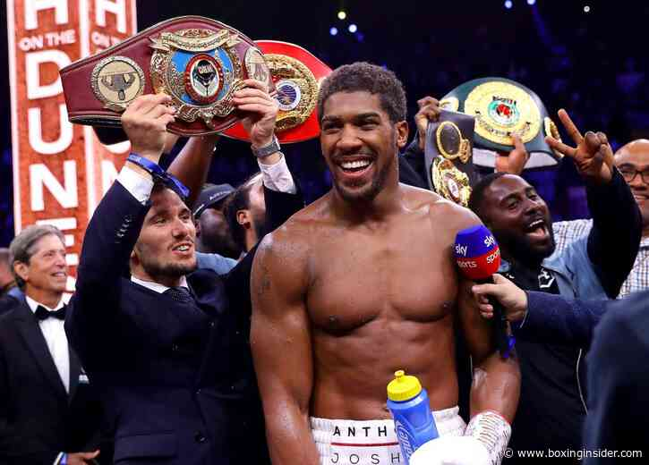 Anthony Joshua Doesn't Blame Kubrat Pulev For Refusing to Step Aside