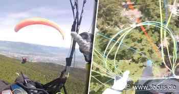 Kollision beim Gleitschirmfliegen: Paraglider stürzt aus 1500 Metern zu Boden - FOCUS Online