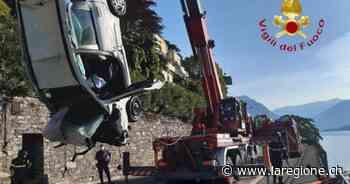 Auto nel lago a Como, un arresto per omicidio stradale - laRegione