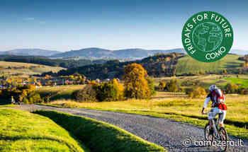 """Turismo - L'invito di Fridays For Future Como: """"Sostenibile, diffuso e non di massa. Bicicletta motore del cambiamento"""" - ComoZero"""