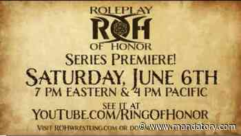 Ring Of Honor Collides With D&D In New Roleplay Of Honor Series