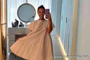 Paula Echevarría tiene el vestido más cómodo y estiloso de Dolores Promesas y está en rebajas - Trendencias