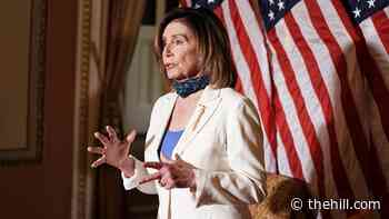 Pelosi joins protests against George Floyd's death outside Capitol
