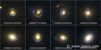 Astronomers turn back time to solve Einstein ring mystery