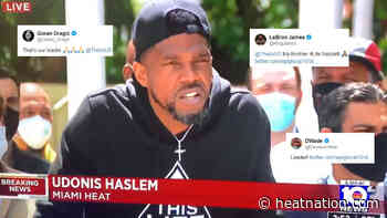 Dwyane Wade, LeBron James, Among Others Rally Around Udonis Haslem's Plea for Justice - Heat Nation