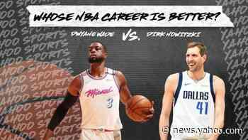 Whose NBA career is better? Dwyane Wade vs. Dirk Nowitzki - Yahoo News