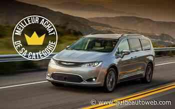 Meilleurs achats 2020: Chrysler Pacifica