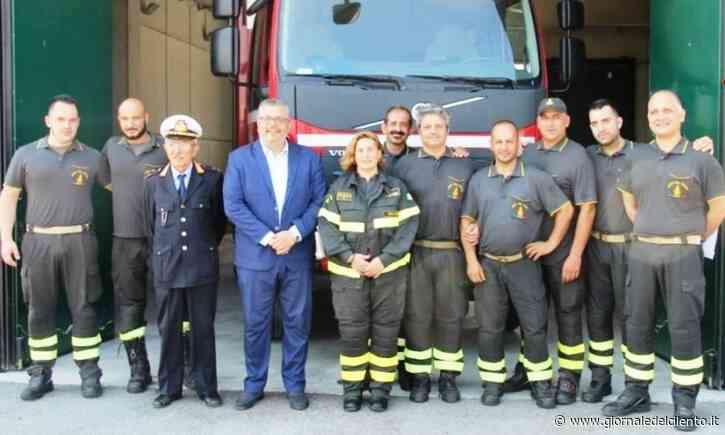 Agropoli, da luglio attivo distaccamento permanente dei Vigili del fuoco - Giornale del Cilento