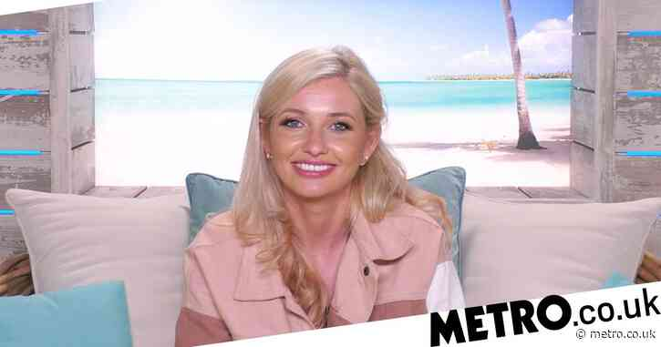 Amy Hart jokes her mum's going to 'pull her for a chat' as she recreates Love Island villa in her garden