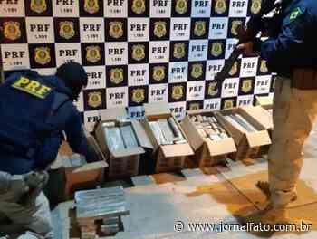 PRF prende traficantes com 113 Kg de maconha em Mimoso do Sul - Jornal FATO
